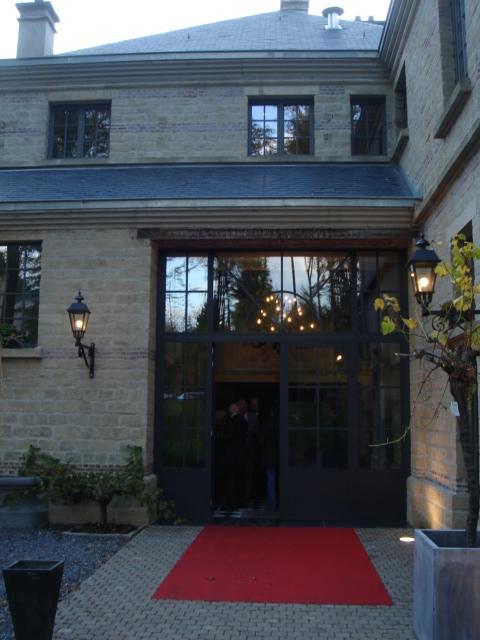 Porte entrée restaurant