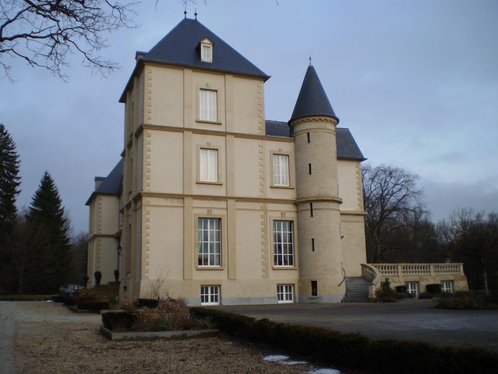 Château côte droit