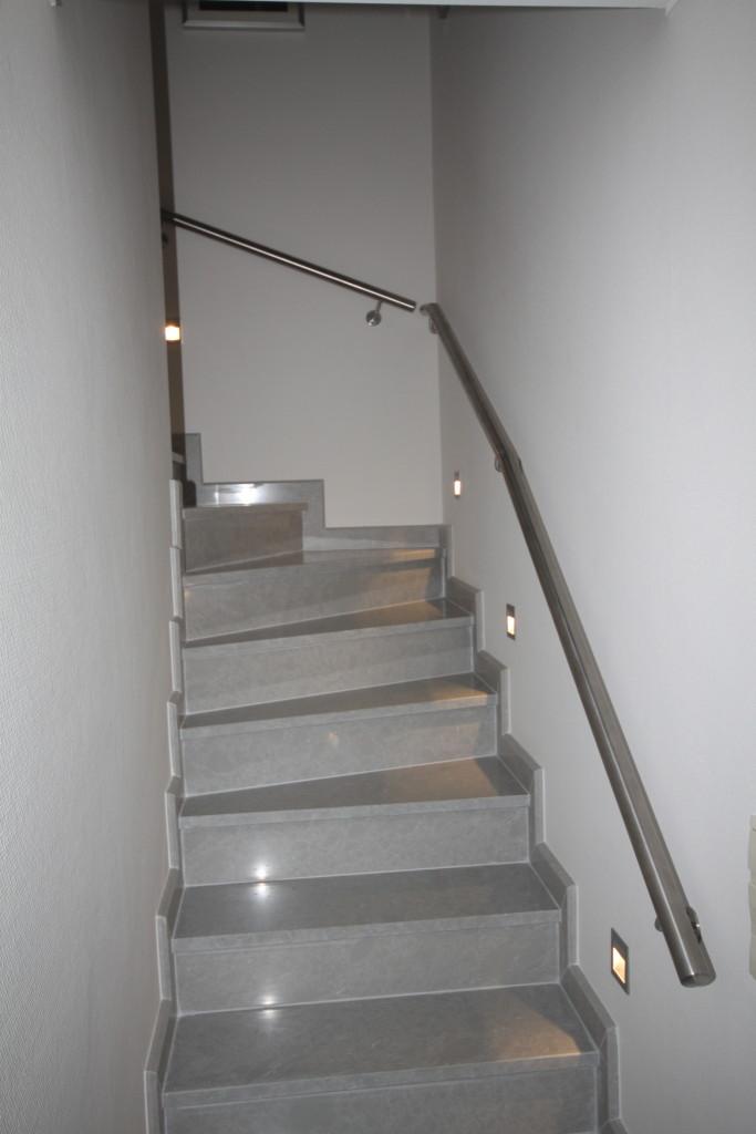 Escalier en granit - duplex